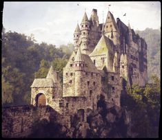ArtStation - Castle Eltz, Martin Frodl