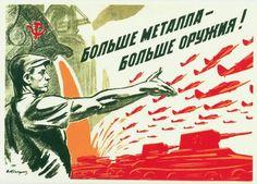Soviet World War II poster