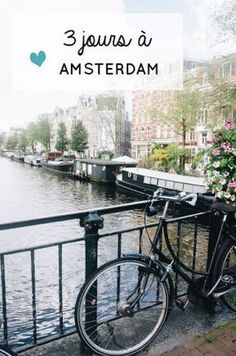Here is a great tip for your Amsterdam travel: the finest method to see the entire city of Amsterdam is to take a trip by bike. Bon Plan Amsterdam, 3 Days In Amsterdam, Amsterdam City Guide, Amsterdam Red Light District, Amsterdam Travel, Week End En Europe, Places To Travel, Places To Go, Travel Destinations