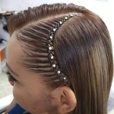Sorts for Hair Braids Curly Hair Braids, Braids For Long Hair, Curly Hair Styles, Little Girl Hairstyles, Great Hairstyles, Braided Hairstyles, Curly Hair Latina, Girl Hair Dos, Toddler Hair