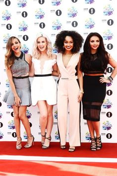 Little Mix :) haha it was so funny when Jade's skirt blew up ahaha