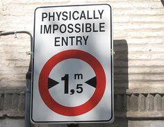 road sign, no entry