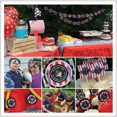 Pirate Birthday Boy Birthday Party Ideas | Photo 13 of 21