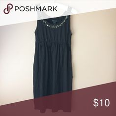 Sonoma Black Beaded Dress Worn a few times, but in great condition. Just some barely noticeable pilling Sonoma Dresses Mini