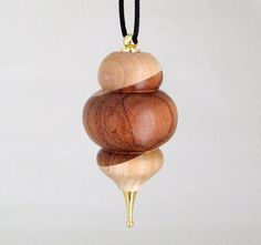turned christmas ornament | Turned Wood Christmas Ornament