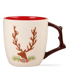 Look at this Stag Mug on #zulily today!