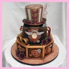FABULOUS STEAMPUNK WEDDING CAKES | steampunk wedding - Google Search