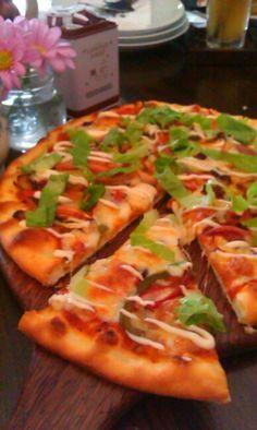 vegee' pizza...