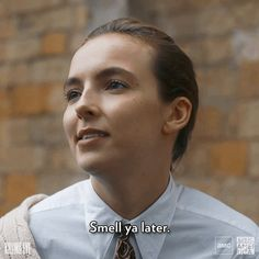 Welcome to BBC America on Giphy, home to gifs from all your favorite shows including Doctor Who, Killing Eve, Planet Earth, and Orphan Black. Series Movies, Tv Series, Below Her Mouth, Detective, Gavin And Stacey, Funny Black Memes, Parks, Sandra Oh, Jodie Comer