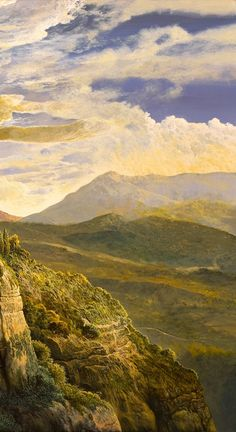 Paintings, Mountains, Nature, Travel, Landscape Paintings, Watercolors, Country, Buenos Aires Argentina, Artists