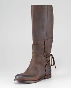 Vera Wang Kelsey Lace-Back Boot