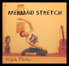 MERMAID STRETCH: lumbar spine, quadratus lumborum (lower back) http://www.yogaweightloss.net/best-yoga-position/