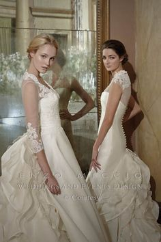 Enzo Miccio Bridal Collection WEDDING DRESS - Advertsing Campaign 4