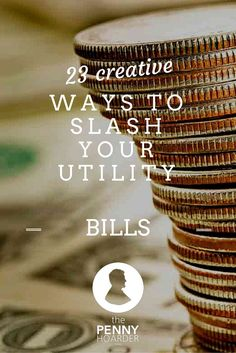 Some are fast, free and easy, while others take a little more work or investment — and even if you rent, you can use some of these tips to cut down your monthly utility bill. - The Penny Hoarder - http://www.thepennyhoarder.com/utility-bill-savings/