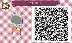 とび森 マイデザイン56 ■マイデザイン 地面 「砂利道」QRコードの二次配布は...