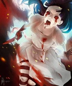 Prompted by the brilliant Hyuuga Hinata from Naruto in Hysteria Mode from Alice: Madness Returns. Alice Liddell, Alice Madness Returns, Vanitas, Chesire Cat, Estilo Anime, Adventures In Wonderland, Wonderland Alice, Horror Art, Anime Manga