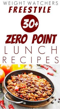Here are over 30 Weight Watchers Freestyle Zero Point Lunch Recipes perfect for on-the-go lunches. Many of these healthy recipes freeze well and can go from freezer to microwave in minutes. Some recipes include: Corn Lentil Chowder, Spicy Beans Weight Watchers Snacks, Plan Weight Watchers, Weight Watcher Dinners, Weight Loss, Weight Watchers Freezer Meals, Lose Weight, Weight Watcher Breakfast, Weight Watcher Recipes, Eating Clean