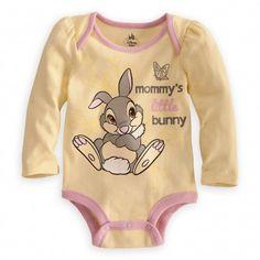 [sc [sc Thumper Disney Cuddly Bodysuit for Baby [sc Disney Baby Clothes, Baby Kids Clothes, Baby & Toddler Clothing, Cute Baby Girl, Baby Love, Cute Babies, Thumper Disney, Baby Girl Fashion, Baby Bodysuit