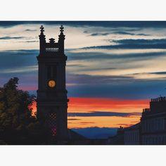 Red sky at night. Rappers delight. #vsco #vscocam #vscoscotland #Edinburgh #scotland #livefolk #liveauthentic