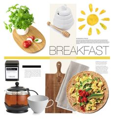 """B for breakfast"" by senaa ❤ liked on Polyvore featuring interior, interiors, interior design, дом, home decor, interior decorating, BonJour, Bellila, FREDS at Barneys New York и Sur La Table"