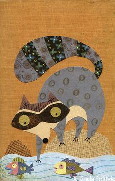 Etsy Woodland Creatures Series by Linda Solovic, via Behance