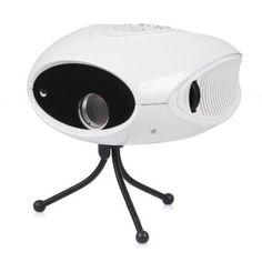 Bolic BLC-007B Mini Trendy Portable HD Home Theater Cinema Digital LCD Projector LED / AV / TV, White/Black (White): Amazon.co.uk: Computers...