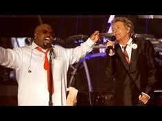 """CeeLo Green feat. Rod Stewart - """"Merry Christmas, Baby"""" [Live]"""