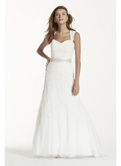 Extra Length Cap Sleeve Wedding Dress with Lace 4XLVW9768