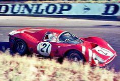 1966 24 Ore Di LeMans SpA Ferrari SEFAC Ferrari 330 P V12 P+2.0 Piloti Jean Guichet Lorenzo Bandini