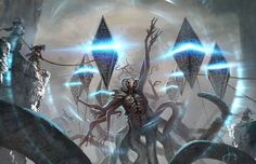 MTG-Battle For Zendikar- Eldrazi Destroyed by jason-felix on DeviantArt