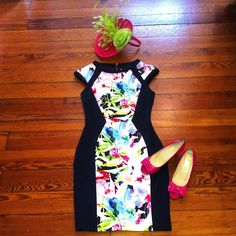 #ootd #headturner #bombshell #pinkmartini #butter #giovanniohats #derby #oaks #shopmonkees