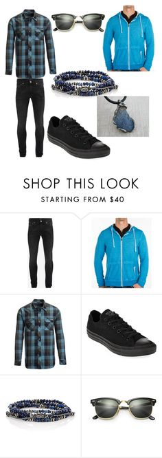 """""""Out Going Delirious"""" by jaswolflover16 ❤ liked on Polyvore featuring Alexander McQueen, BKE, Flylow, Converse, M. Cohen, Ray-Ban, men's fashion and menswear"""
