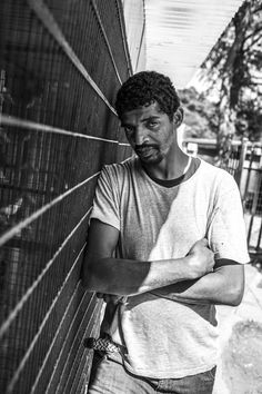 """Suleiman Salim, a Tanzanian who was held prisoner in Afghanistan by the CIA, is photographed in Johannesburg, South Africa, last year. Salim is one plaintiff in a lawsuit against two Spokane psychologists regarded by some as the architects of the CIA's brutal interrogations. He says he was beaten, isolated in a dark cell for months, subjected to dousing and deprived of sleep. """"I feel like I'm so weak and I can't do anything,"""" he said. (BRYAN DENTON/NYT)"""