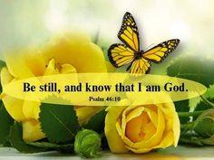 Psalm 46:10a KJV