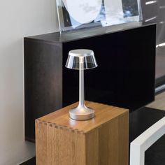 Bon Jour Unplugged was designed by Philippe Starck to move effortlessly with the user in any environment.   This portable table lamp charges via a USB plug to provide light for up to 6 hours, making it ideal for illuminating any space inside or outside the home.   #flos #floslighting #lightingdesign #italiandesign #interiordesign #designinspiration #interiorinspiration #homedecor #contemporarytablelamp #modern #decorativetablelamp
