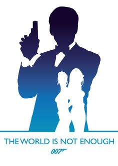 The World Is Not Enough, James Bond by Phil Beverley, via Behance