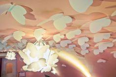 Butterflies ceiling