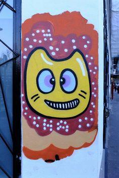 Paris 11 - rue Bichat - street art - chanoir