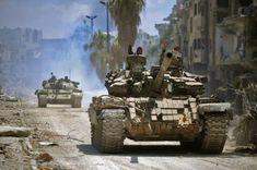 Army hunts down terrorist snipers in al-Hajar al-Aswad – Syrian Arab News Agency T 72, Syrian Civil War, Arab News, Military Armor, Armored Vehicles, Military Vehicles, Wwii, Hunting, Army