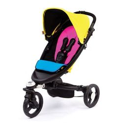 A Rainbow of Colorful Strollers