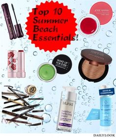 Top 10 Beach Essentials! Prime Beauty Blog