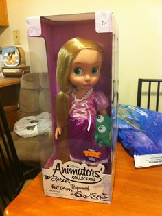 Disney Animators' Collection Signed Rapunzel Doll