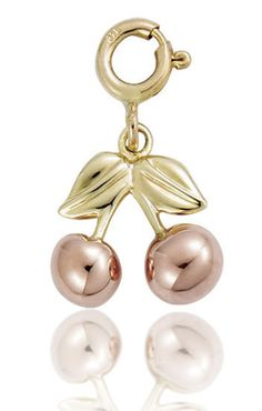 Clogau Charm Cherries Gold | C W Sellors Fine Jewellery and Luxury Watches
