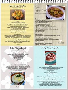 Recipe Cards, Meal Prep, Food And Drink, Menu, Cooking, Recipes, Pudding, Teepees, Menu Board Design