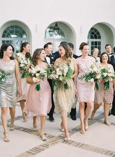 Ceremony Venue: Holy Trinity Anglican Church - http://www.stylemepretty.com/portfolio/holy-trinity-anglican-church-2 Wedding Dress: Jenny Packham - http://www.jennypackham.com Photography: Graham Terhune Photography - grahamterhune.com   Read More on SMP: http://www.stylemepretty.com/2017/02/28/vintage-modern-raleigh-wedding/