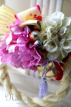 Japanese New Year wreath 2014