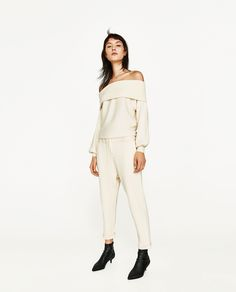 ZARA - SALE - JOGGING TROUSERS WITH CORD