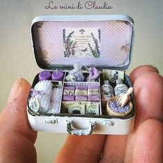2017.10 Lavender suitcase ♡ ♡ By Le Mini Di Claudia