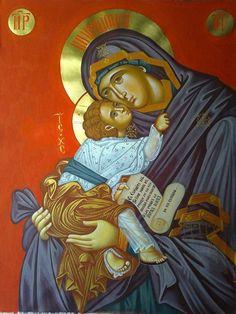 Religious Pictures, Religious Icons, Religious Art, Religious Quotes, Earth Goddess, Byzantine Art, Orthodox Icons, Sacred Art, I Icon