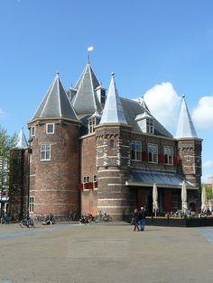 De Waag, Nieuwmarkt, Amsterdam.
